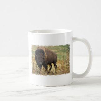 Taza de café de madera del bisonte