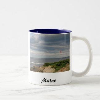 Taza de café de Maine