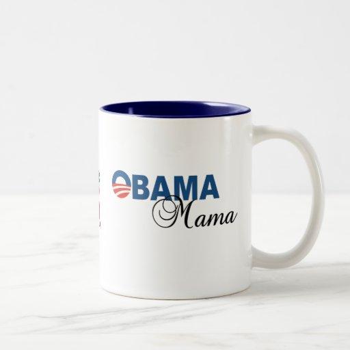 Taza de café de mamá Logo de Obama