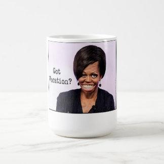 Taza de café de Michelle Obama