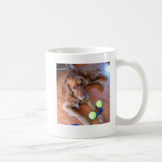 Taza de café de Mitchell - goldens de la sol