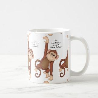 Taza de café de monos y de refranes
