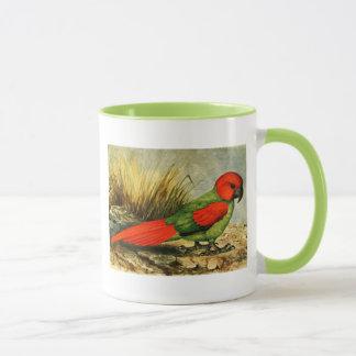 Taza de café de Necropsittacus Borbonicus