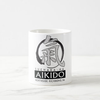Taza de café de Northside 15oz del Aikido