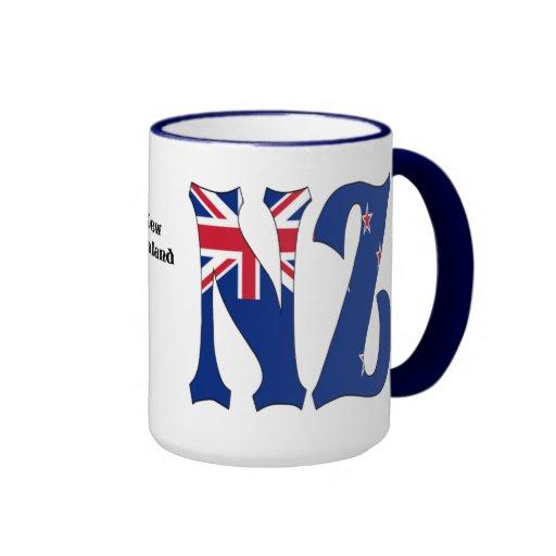 Taza de café de Nueva Zelanda
