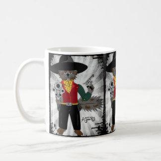 Taza de café de Nutto del poncho