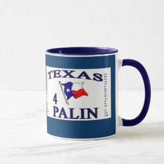 Taza de café de O4P Texas4Palin