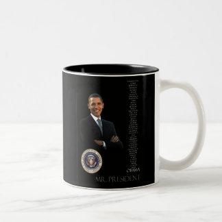 Taza de café de Obama