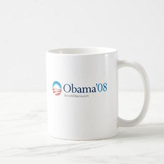 Taza de café de Obama '08