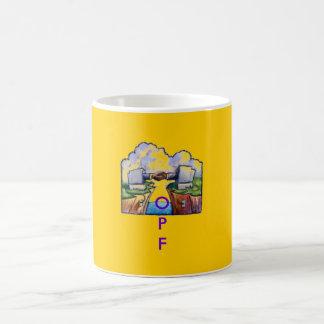 Taza de café de OPF