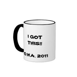 Taza de café de OWA