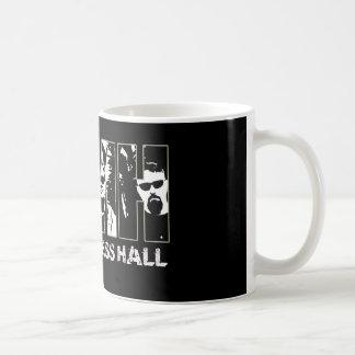 Taza de café de pasillo de los comandantes lío