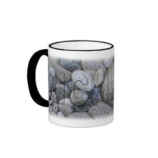 Taza de café de piedra de Petosky