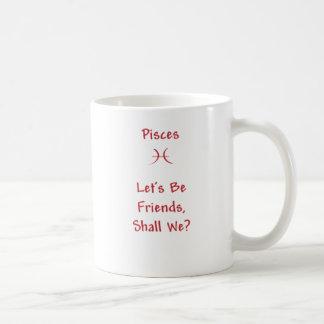 Taza de café de Piscis