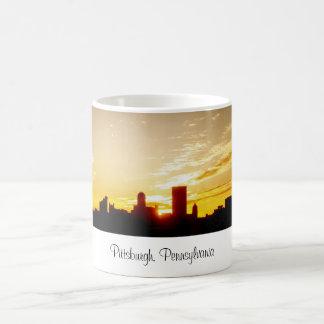Taza de café de Pittsburgh, Pennsylvania