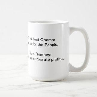 Taza de café de presidente Obama