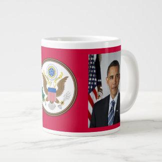 Taza de café de presidente Obama Commemorative Jum Taza Grande