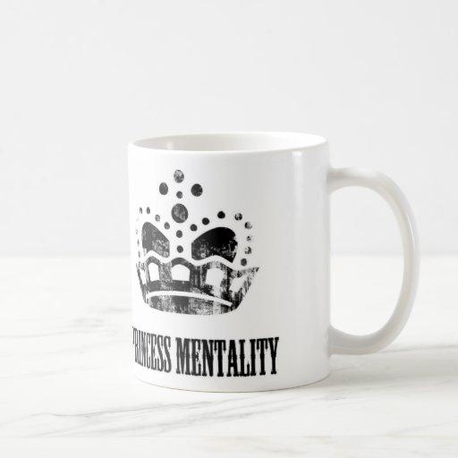 Taza de café de princesa Mentality