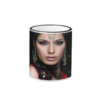 Taza de café de princesa Portrait