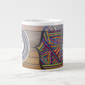 Taza de café de proceso taza grande