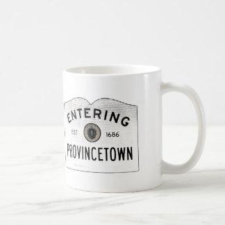 Taza de café de Provincetown Cape Cod