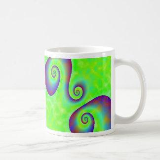 Taza de café de Retroswirls