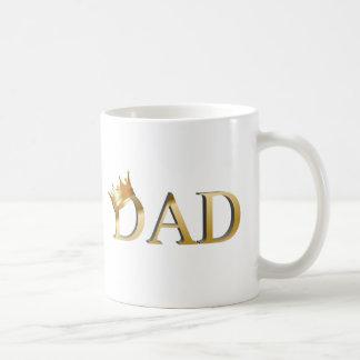 Taza de café de rey Dad