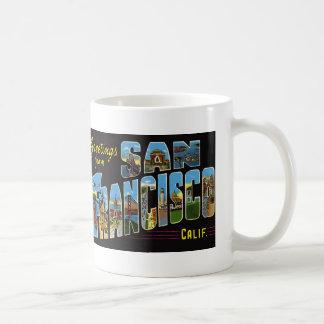 Taza de café de San Francisco