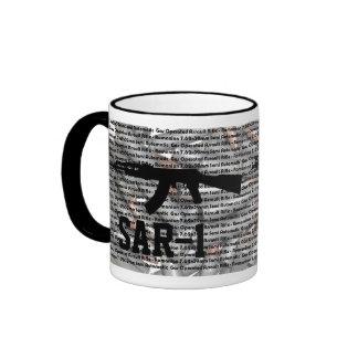 Taza de café de SAR-1 7.62x39m m