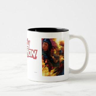 Taza de café de señora Action