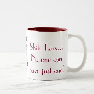 Taza de café de Shih Tzu
