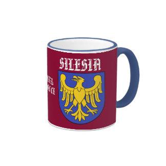 Taza de café de Silesia Polonia