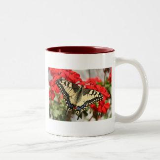 Taza de café de Swallowtail del anís