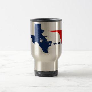 Taza de café de Tejas Pipeliner