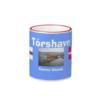 Taza de café de Tórshavn* Dinamarca Faroe Island