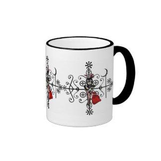 Taza de café de Veve de la muñeca del vudú de Legb