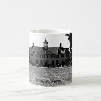 Taza de café de Washington Mt Vernon