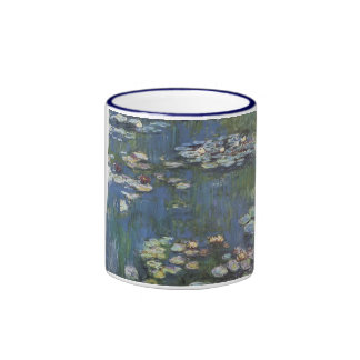 "Taza de café de ""Waterlilies"" de Claude Monet"