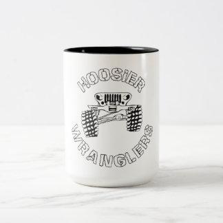 Taza de café de Wrangler del Hoosier