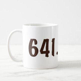 Taza de café decimal de Dewey