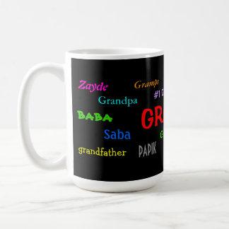Taza de café del abuelo
