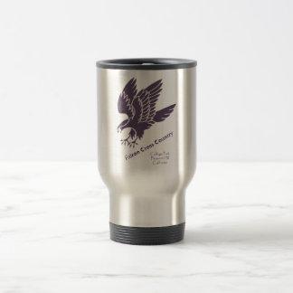 taza de café del acero xc