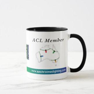 Taza de café del ACL - fuente dos de la PALMADA