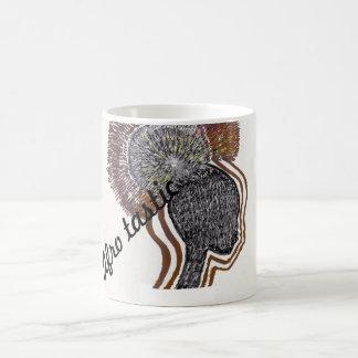 Taza de café del afro-tastic