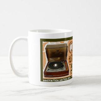Taza de café del alma del hombre negro
