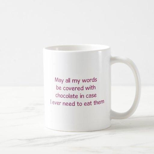 Taza de café del amante del chocolate