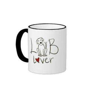 Taza de café del amante del laboratorio