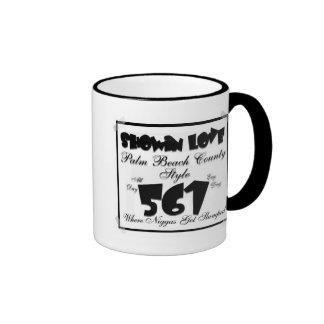 taza de café del amor del showin del pbc