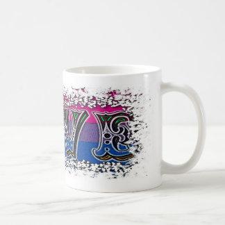 Taza de café del amor y del orgullo