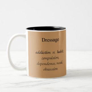Taza de café del apego del Dressage